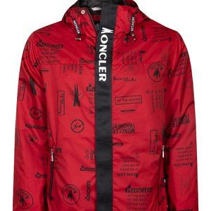 MONCLER RED RAINCOATS NEW SEASON